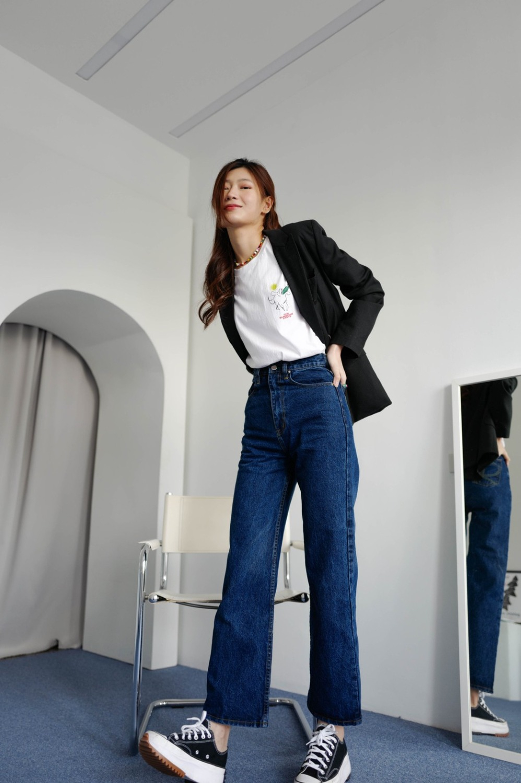 Poppy Jeans (Dark Blue Denim)