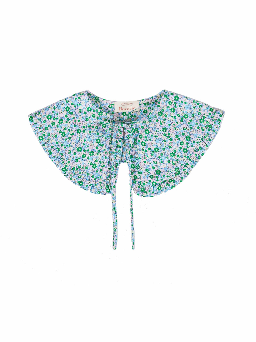 Holiday Collar (Green Floral)