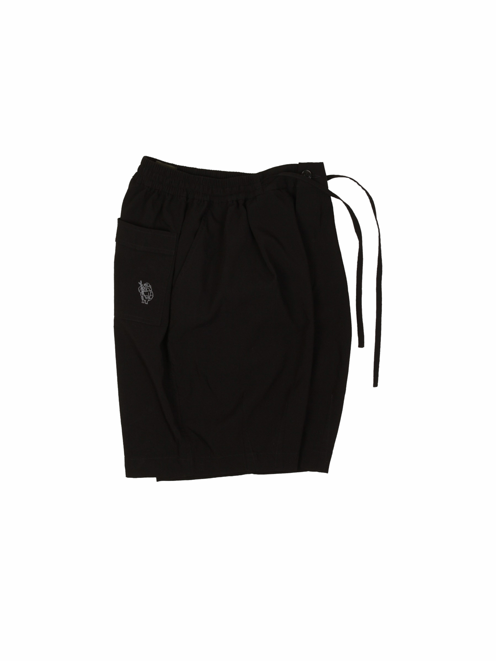 Rayon Balloon Shorts (Black)