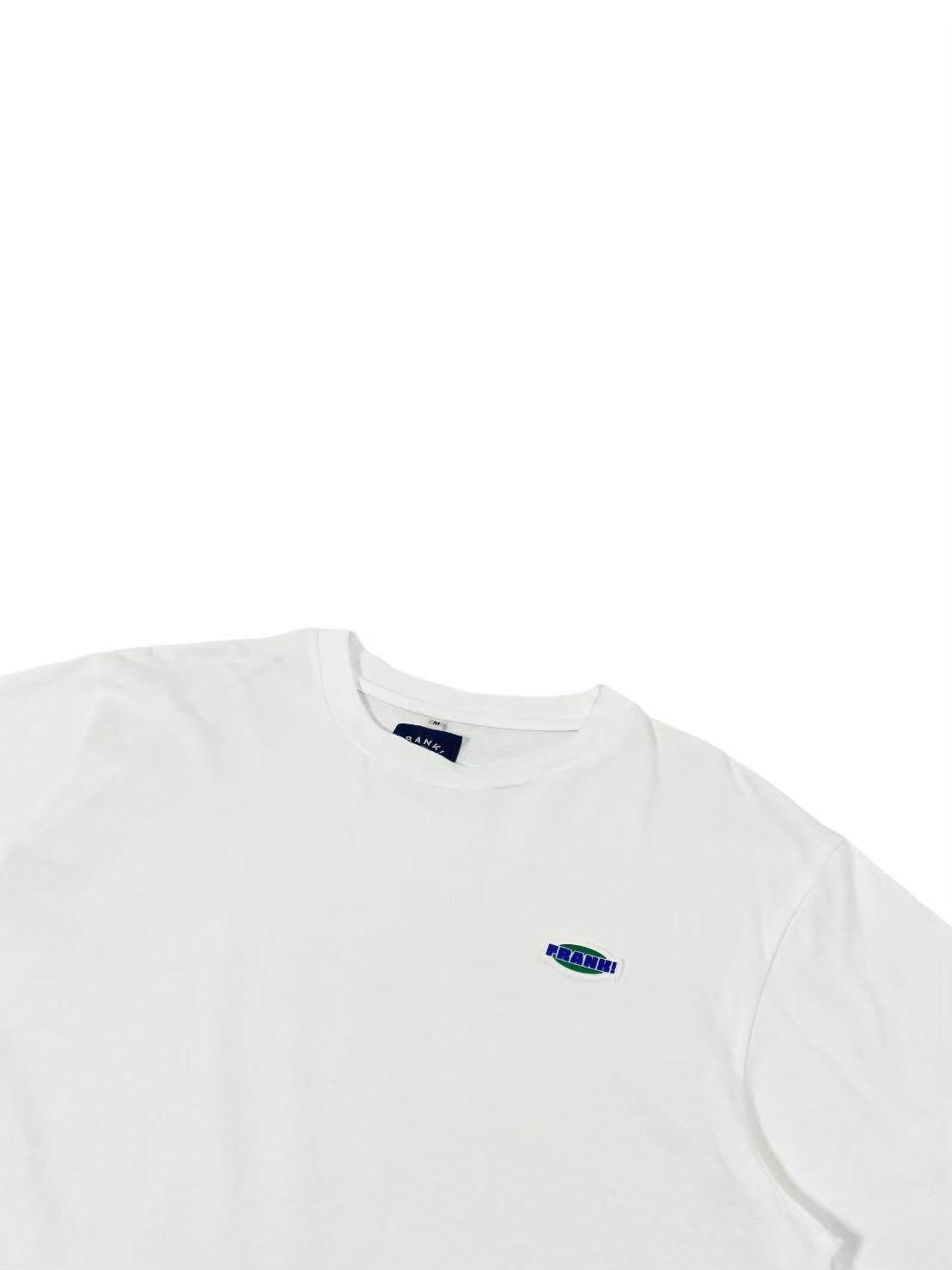Frank Logo Tee (White)