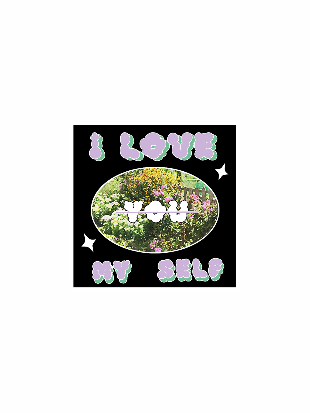 Postcard - I Love My Self