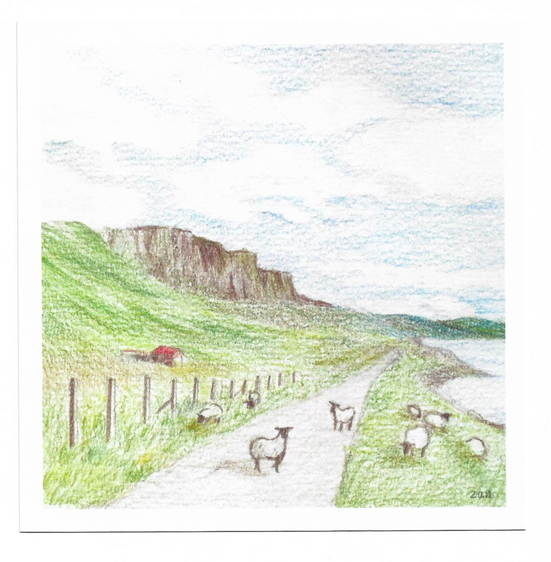 Postcard - Scotland