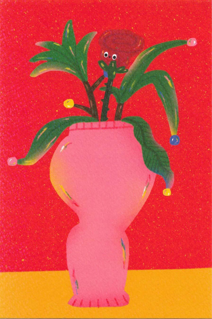 Flower In The Vase2