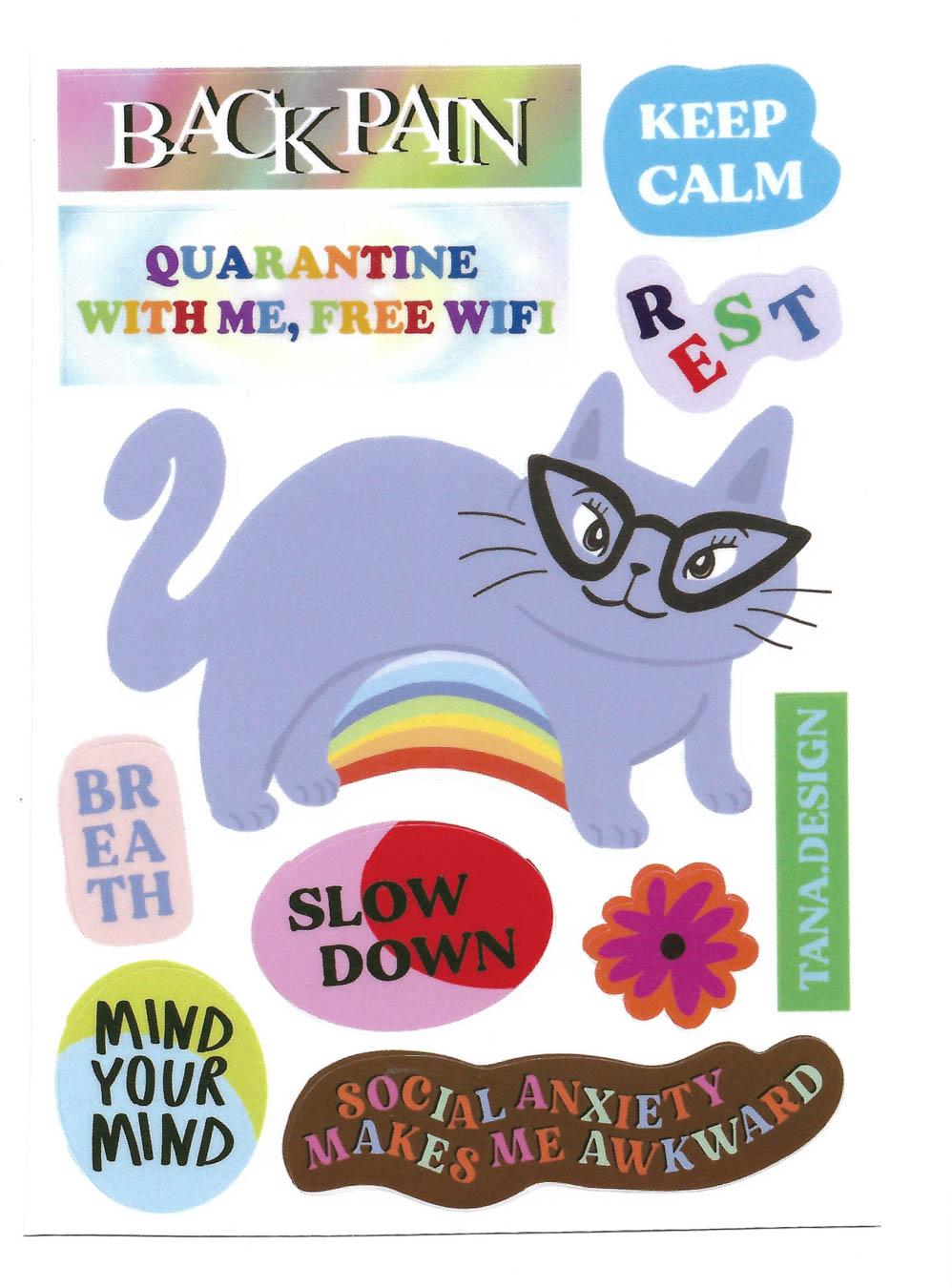 Backpain Sticker