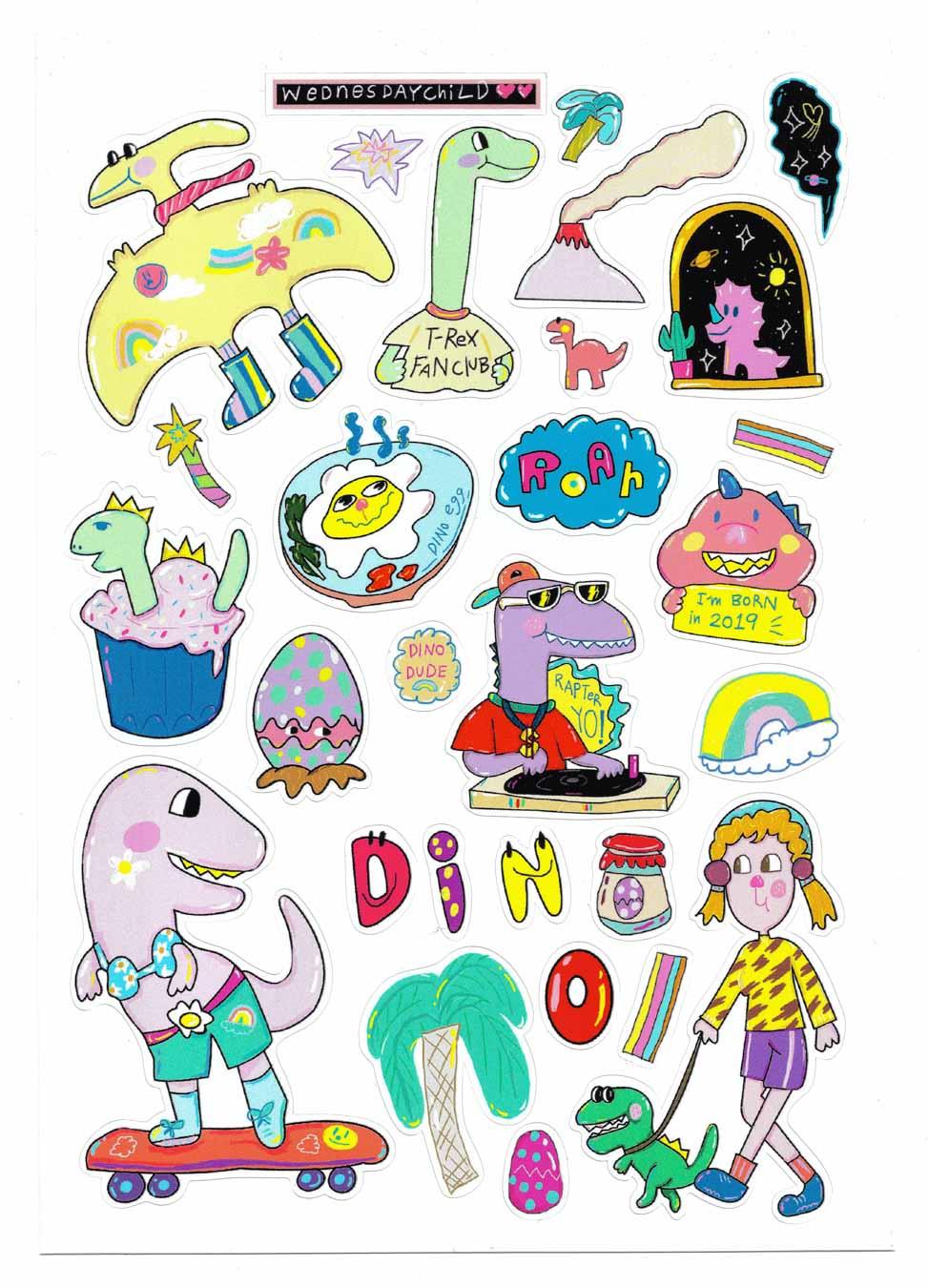 Dinosaur - Sticker