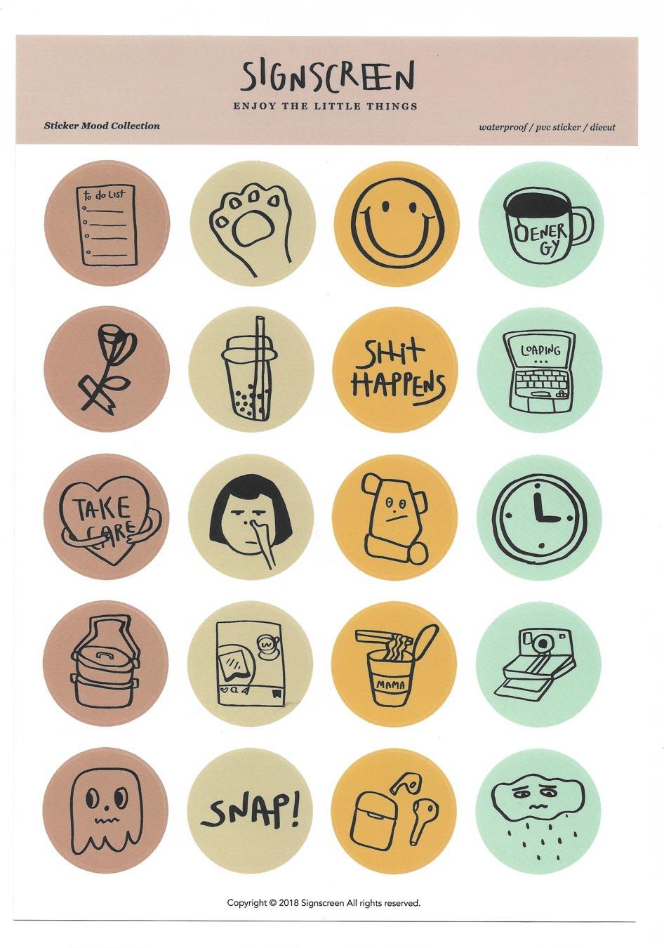 Sticker - Mood Icon