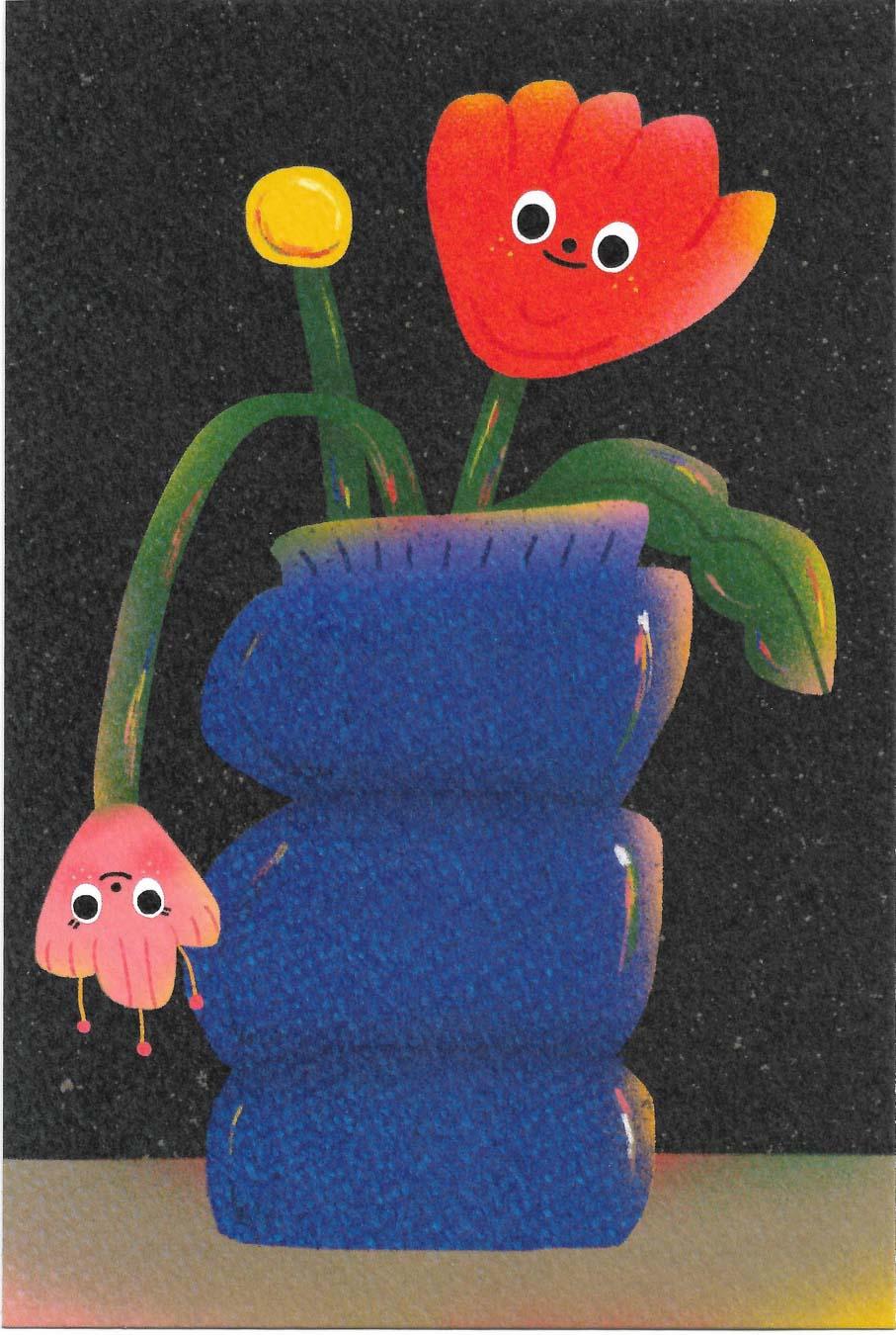 Flower In The Vase1