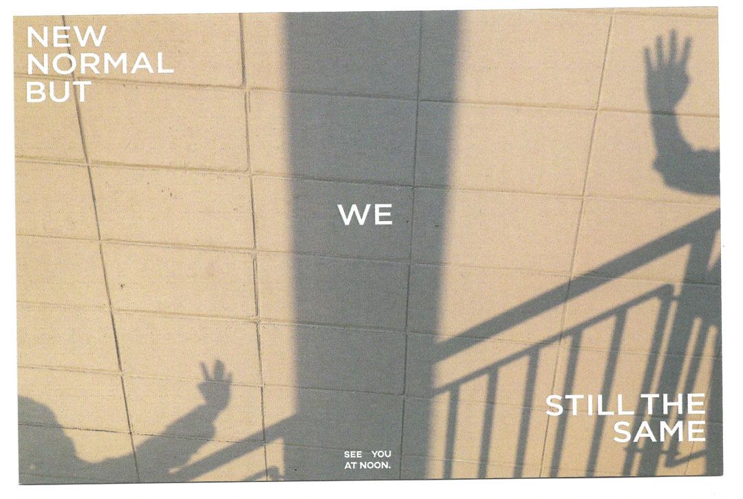 ์New Normal But We Still The Same Postcard