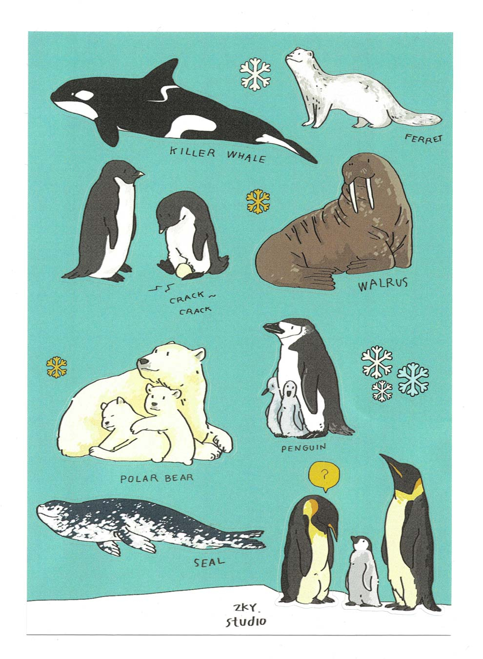 Sticker Arctic