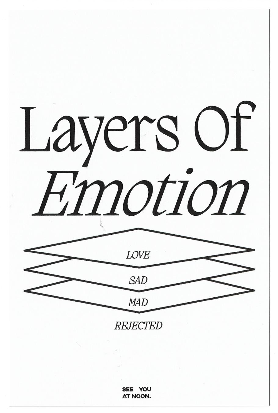 Postcard Layers Of Emo