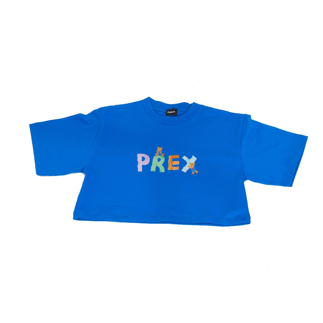 Prey Logo Paper Bear (Blue)