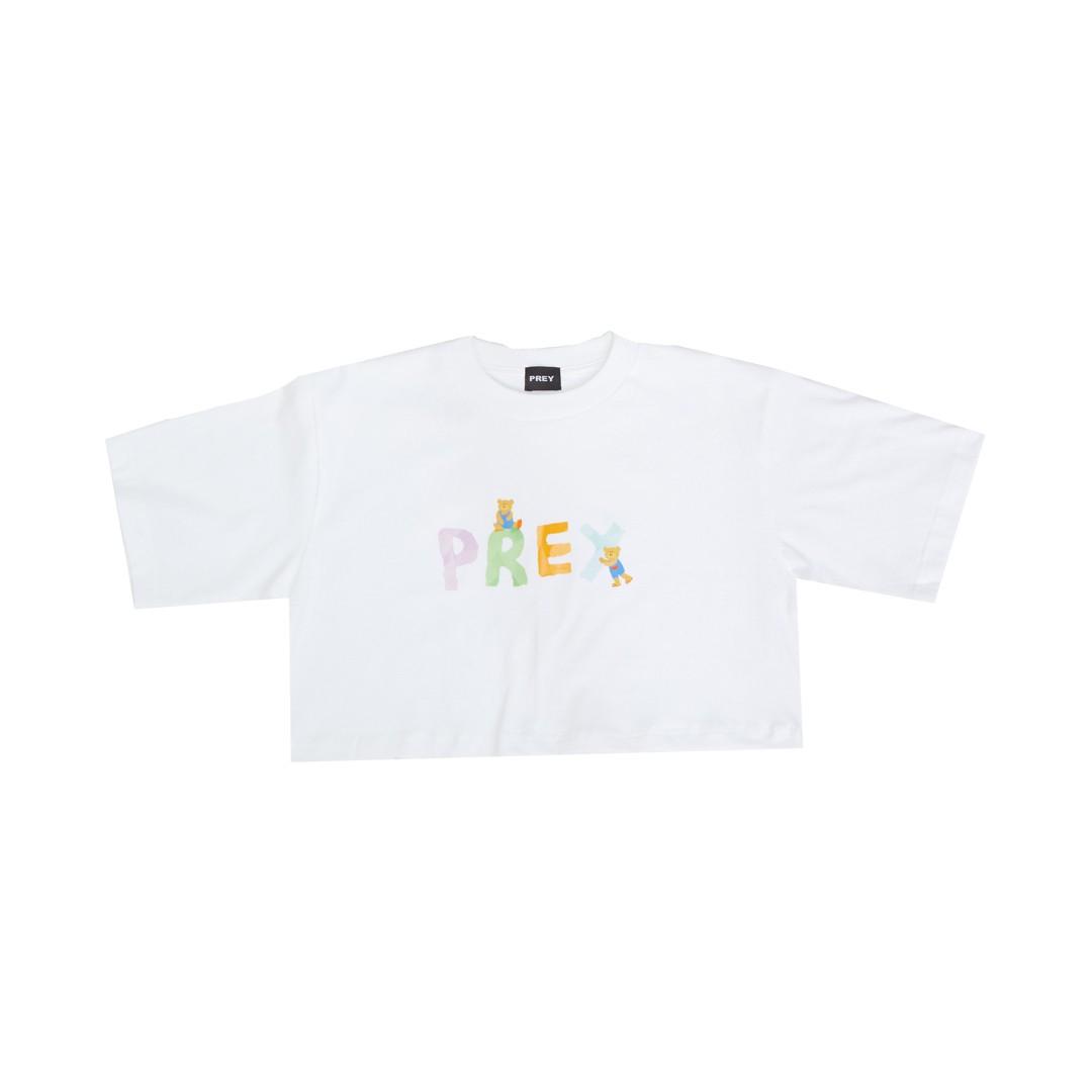Prey Logo Paper Bear (White)