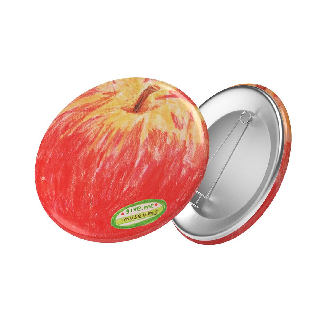 Badge (Red Apple)