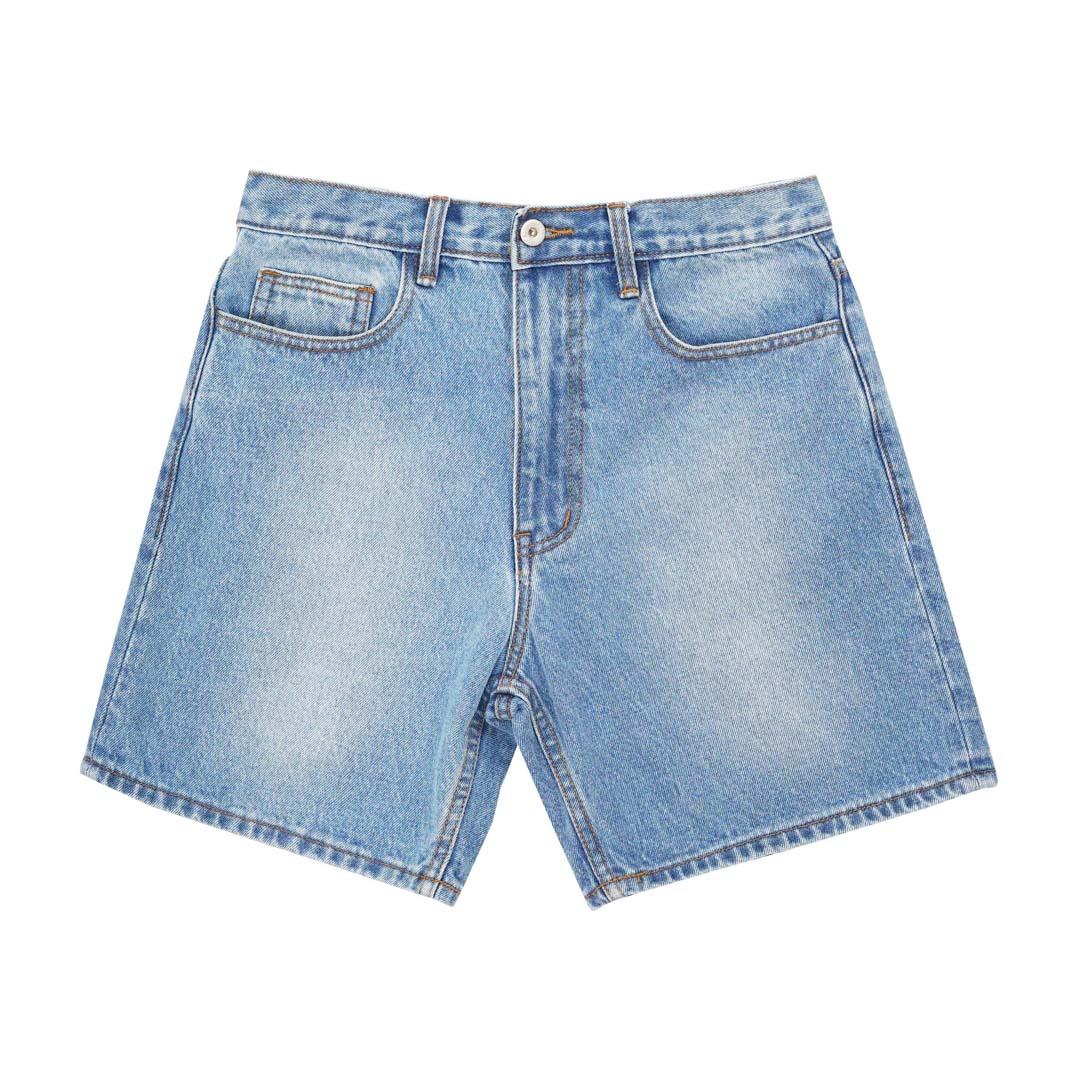 CIII Denim Shorts (Light Blue)