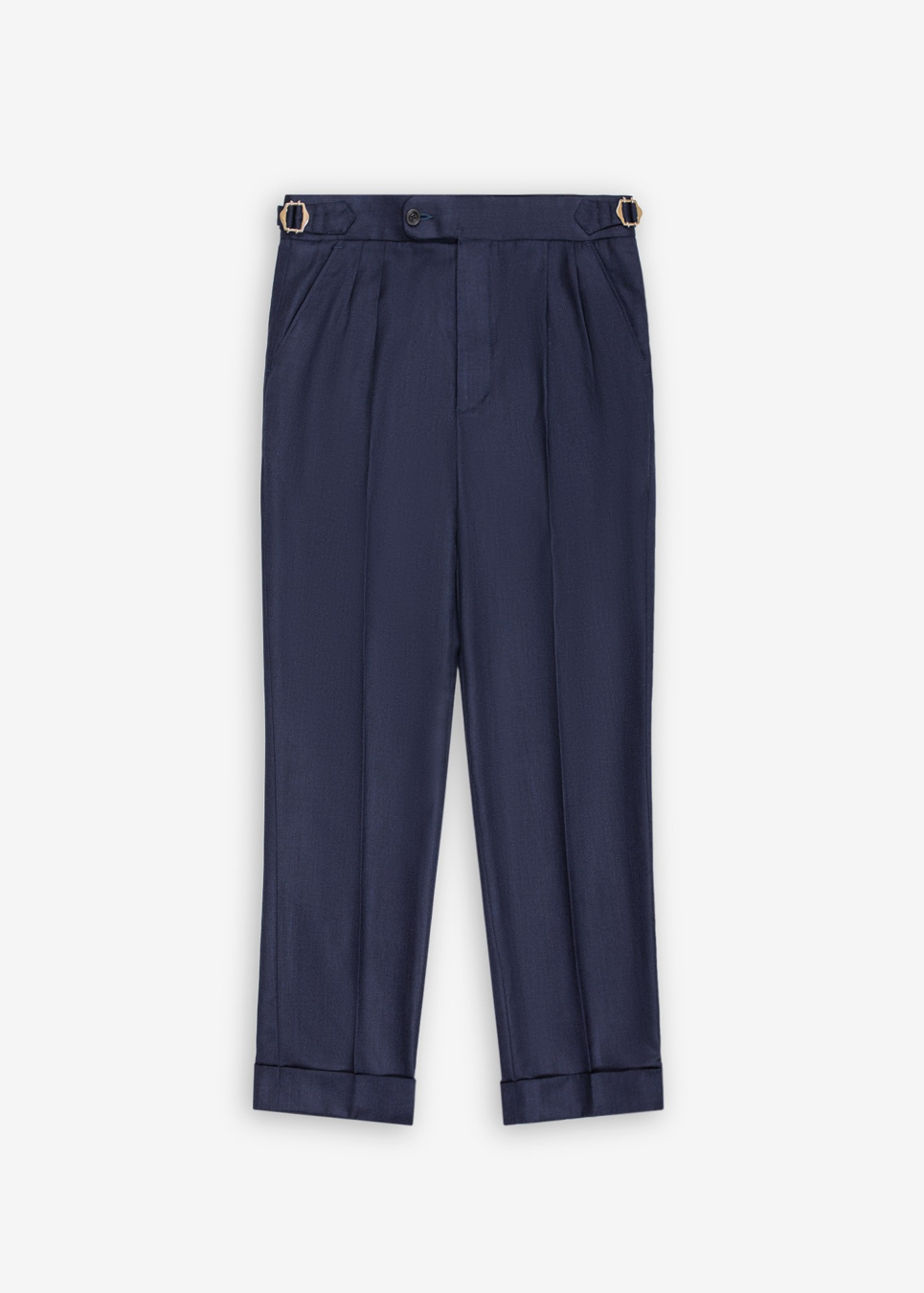 Rags And Lace Wool Pants (Navy)