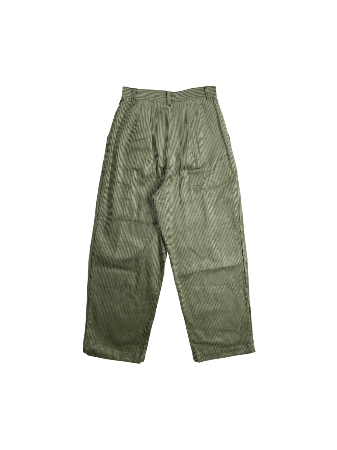 Corduroy Mensy Trousers (Olive)