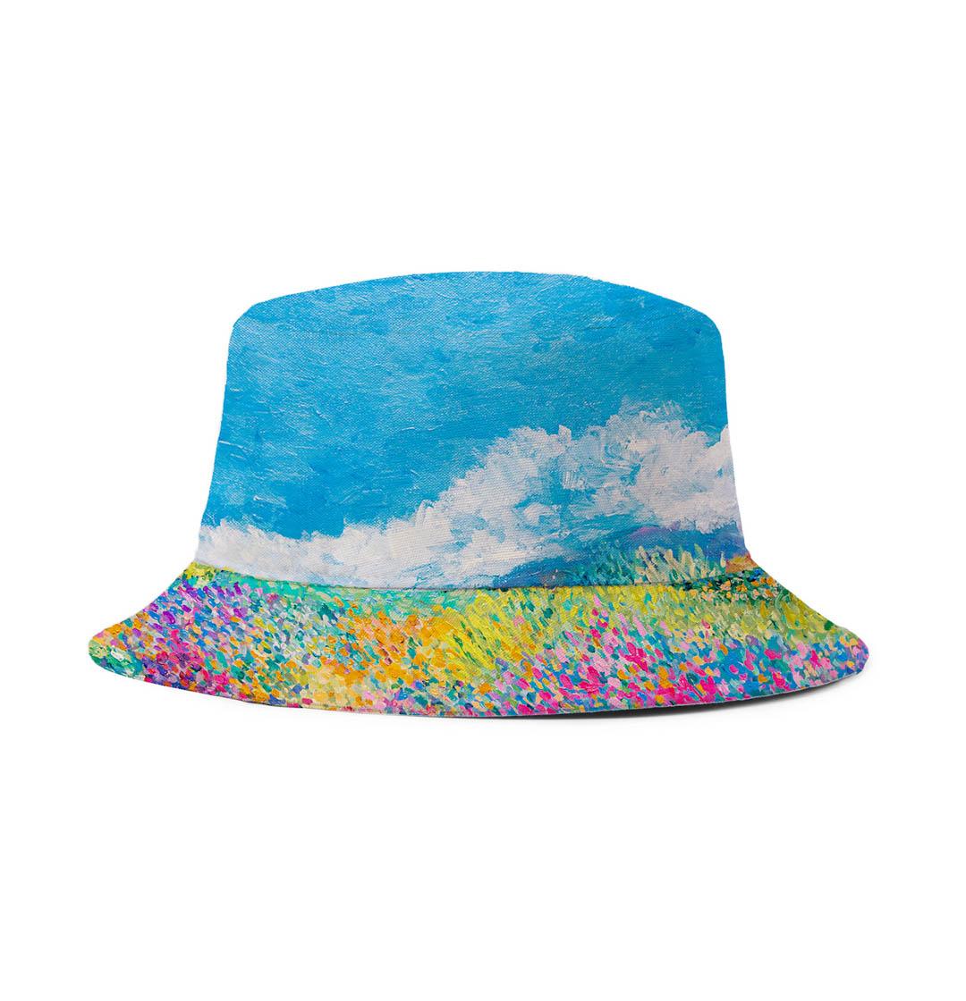 Bucket Hat (Flower Field)