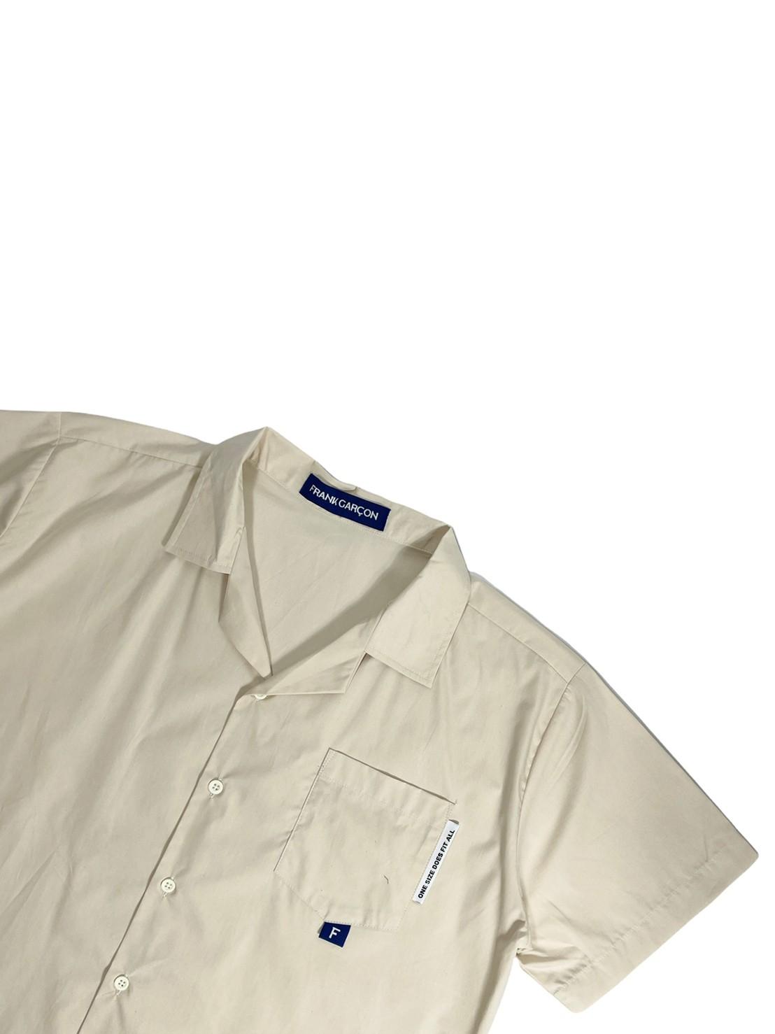 FRANK ! Camp Collar Shirt (Sand)