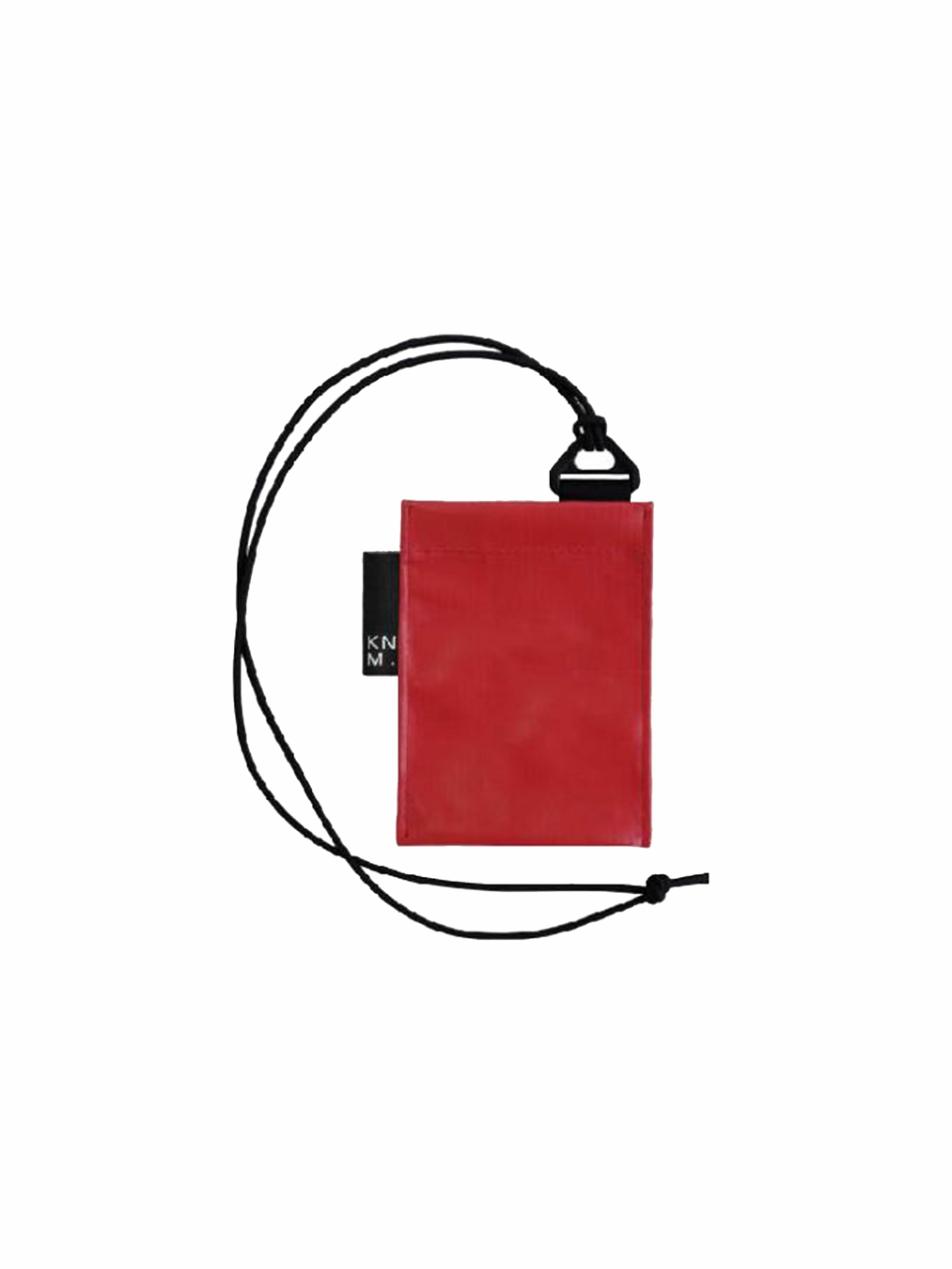 Pass Card Holder Strap (Red)