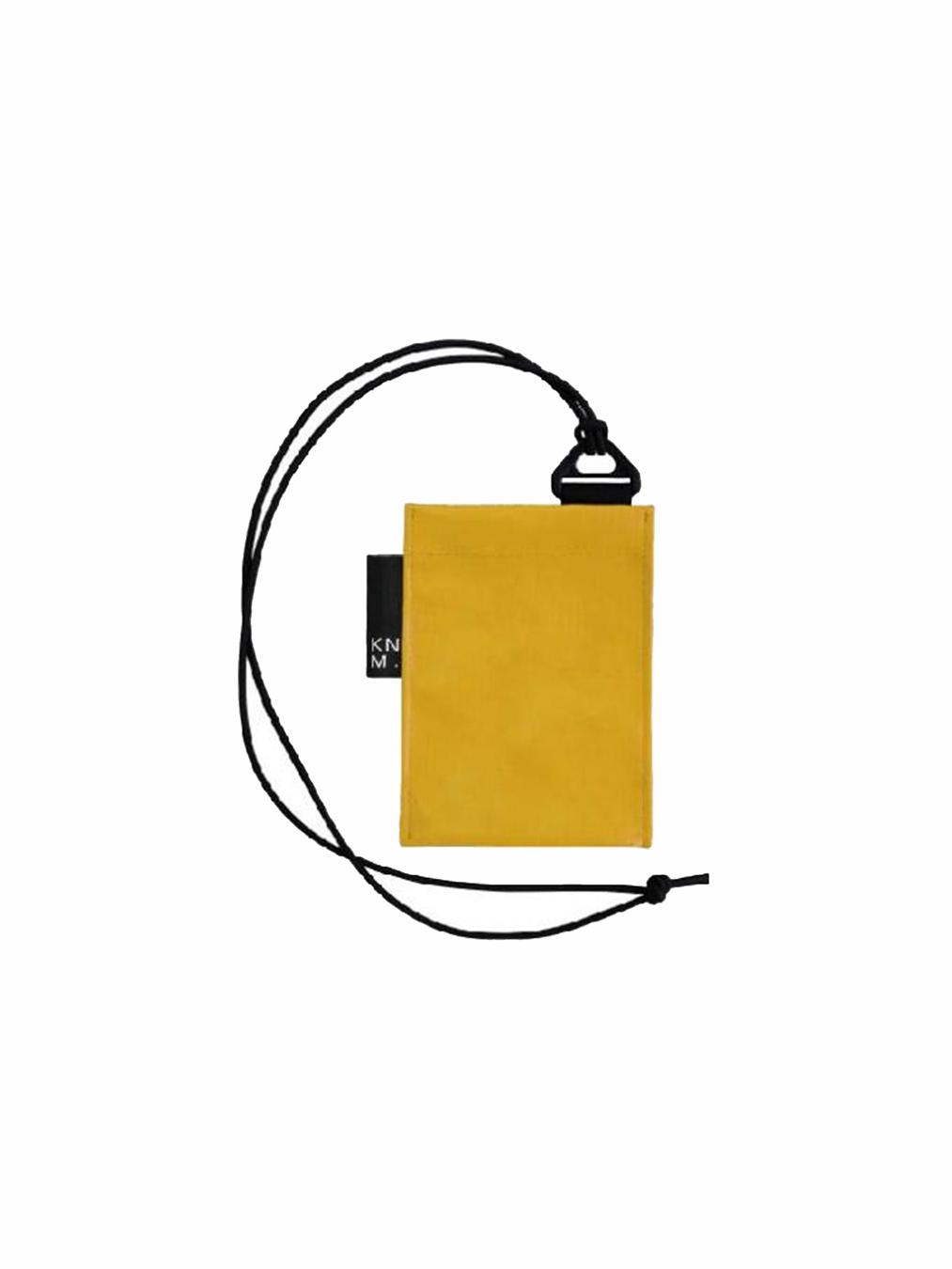 Pass Card Holder Strap (Yellow)