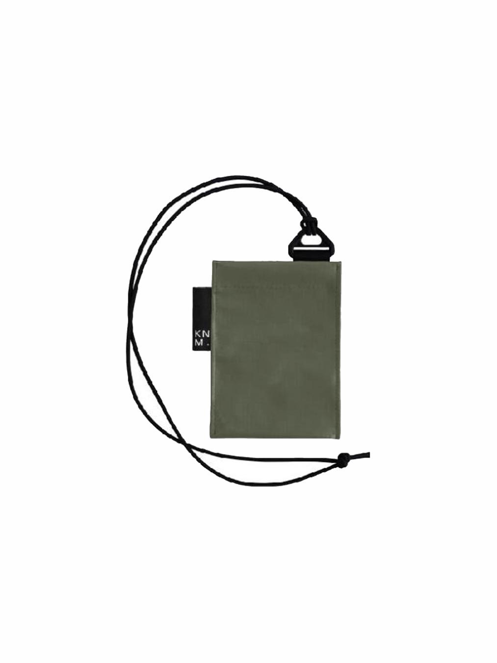 Pass Card Holder Strap (Olive)