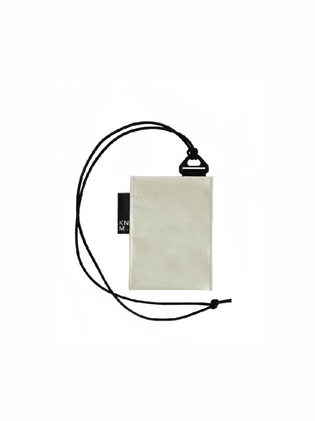Pass Card Holder Strap (White)