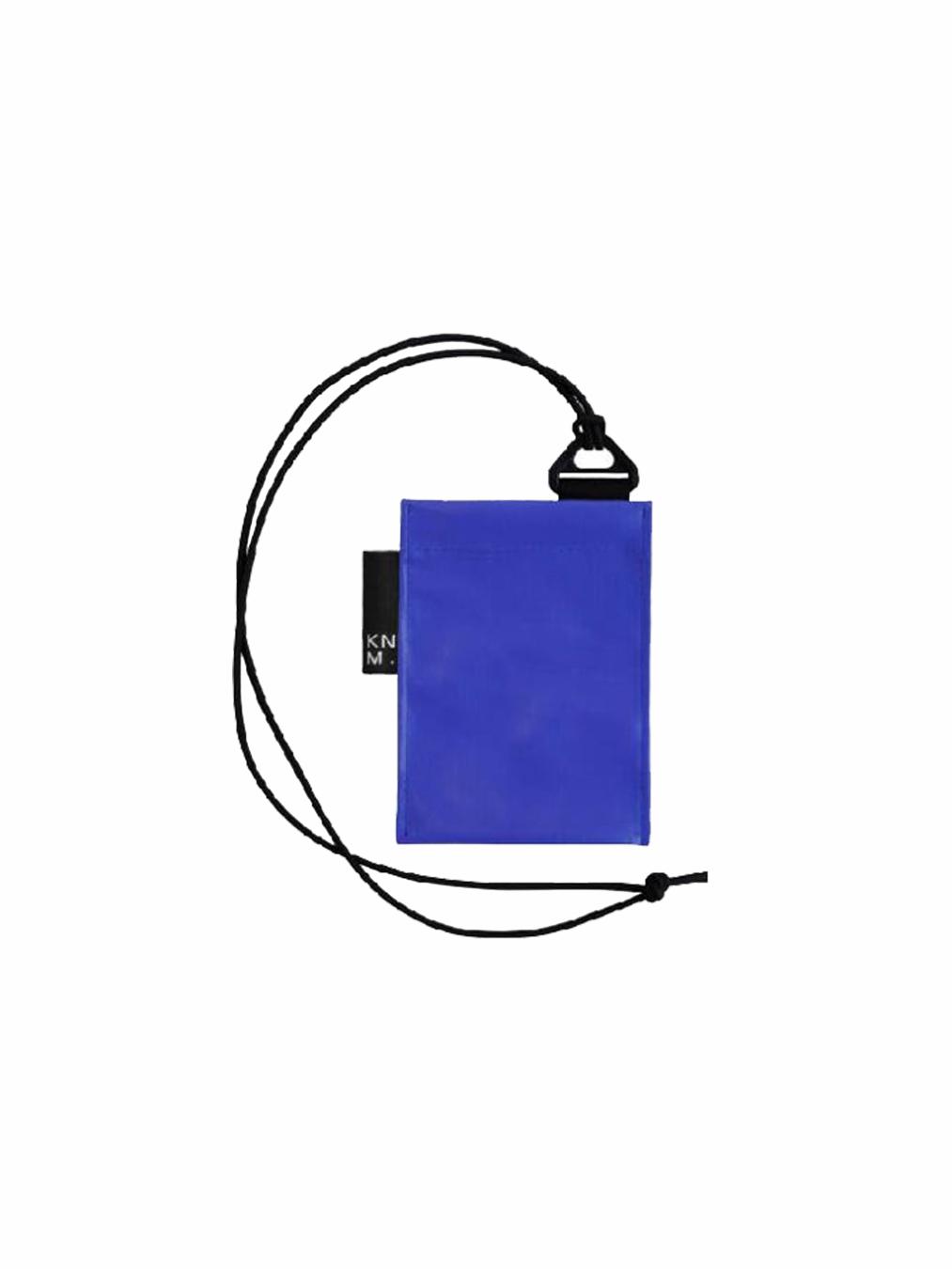 Pass Card Holder Strap (Cobalt)