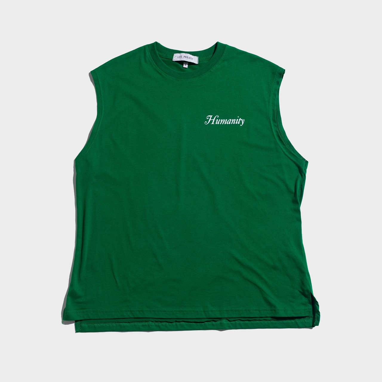 HUMANITY Sleeveless Forest Green