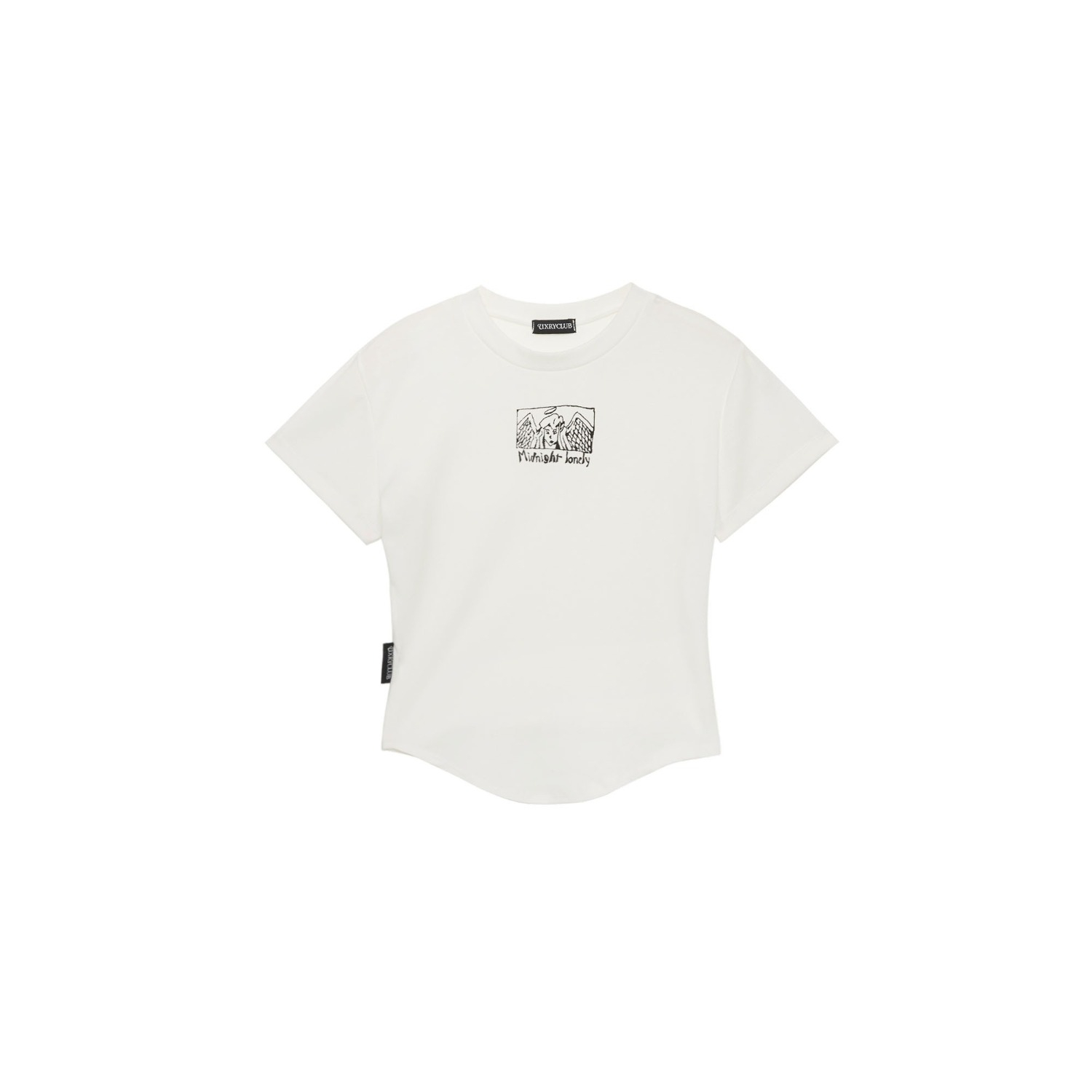 Witch Craft Baby Tee (White)