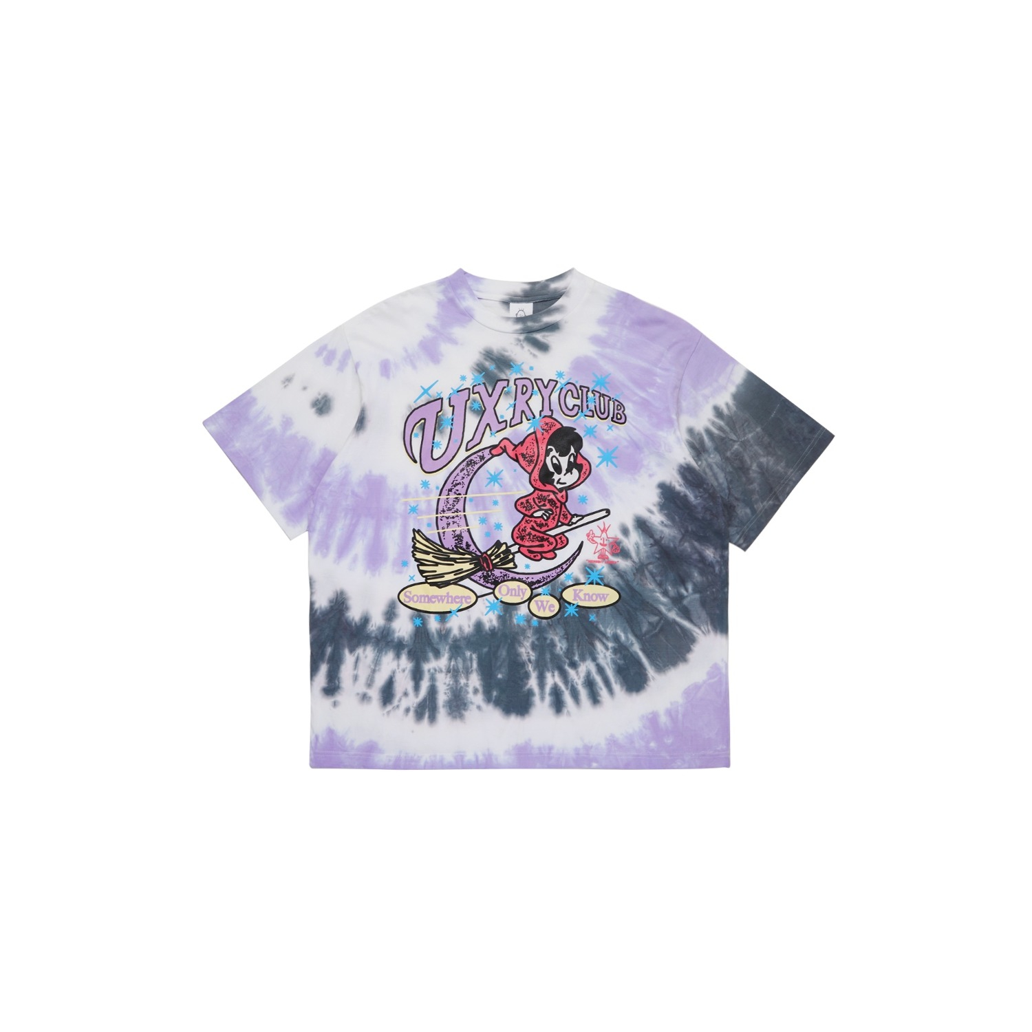 Somewhere only we know Tie Dye Tee