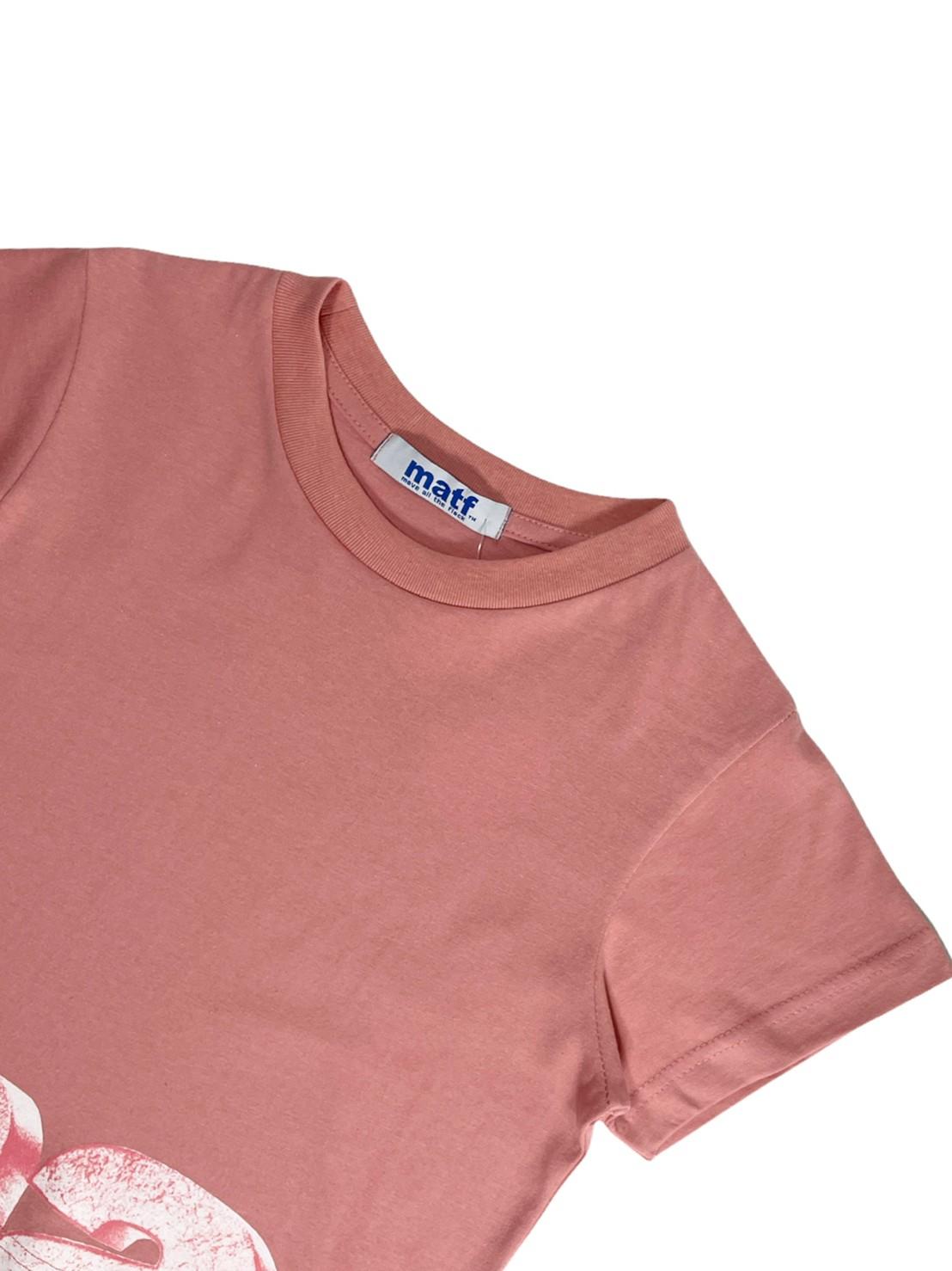 Matf *shift* crop top t-shirt (rose pink)