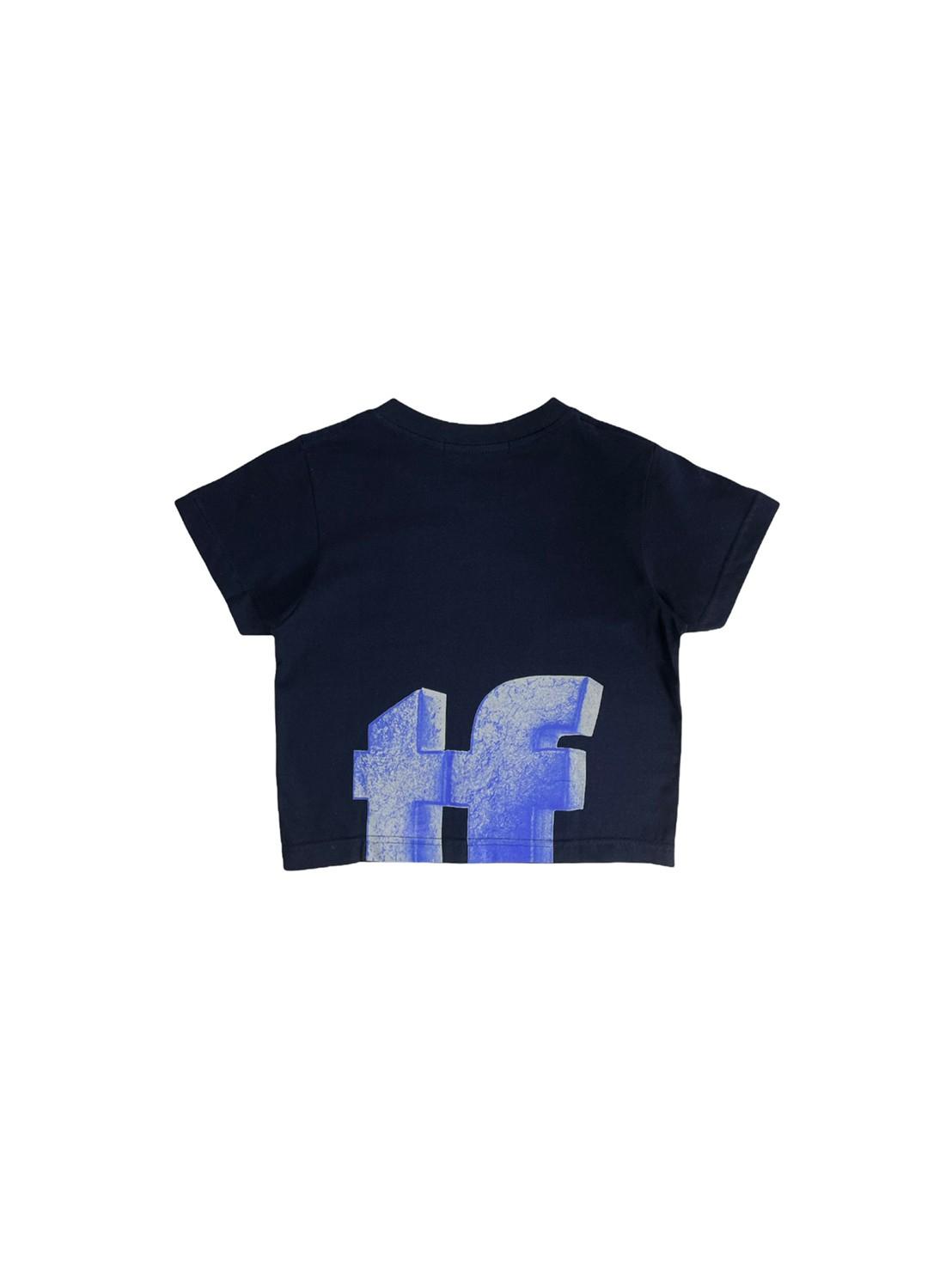 Matf *shift* crop top t-shirt (midnight blue)