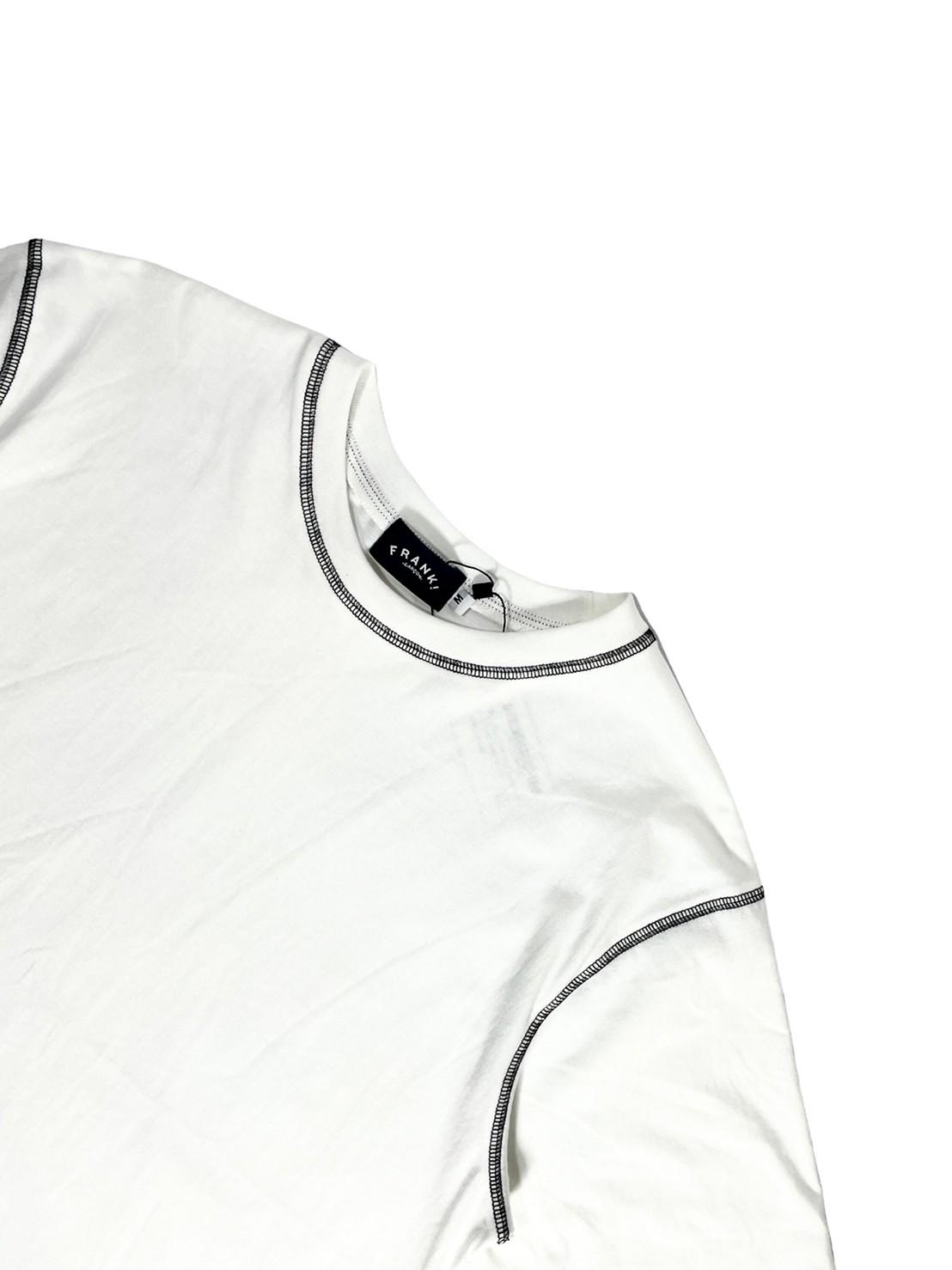 New FRANK! Logo Tee (White)