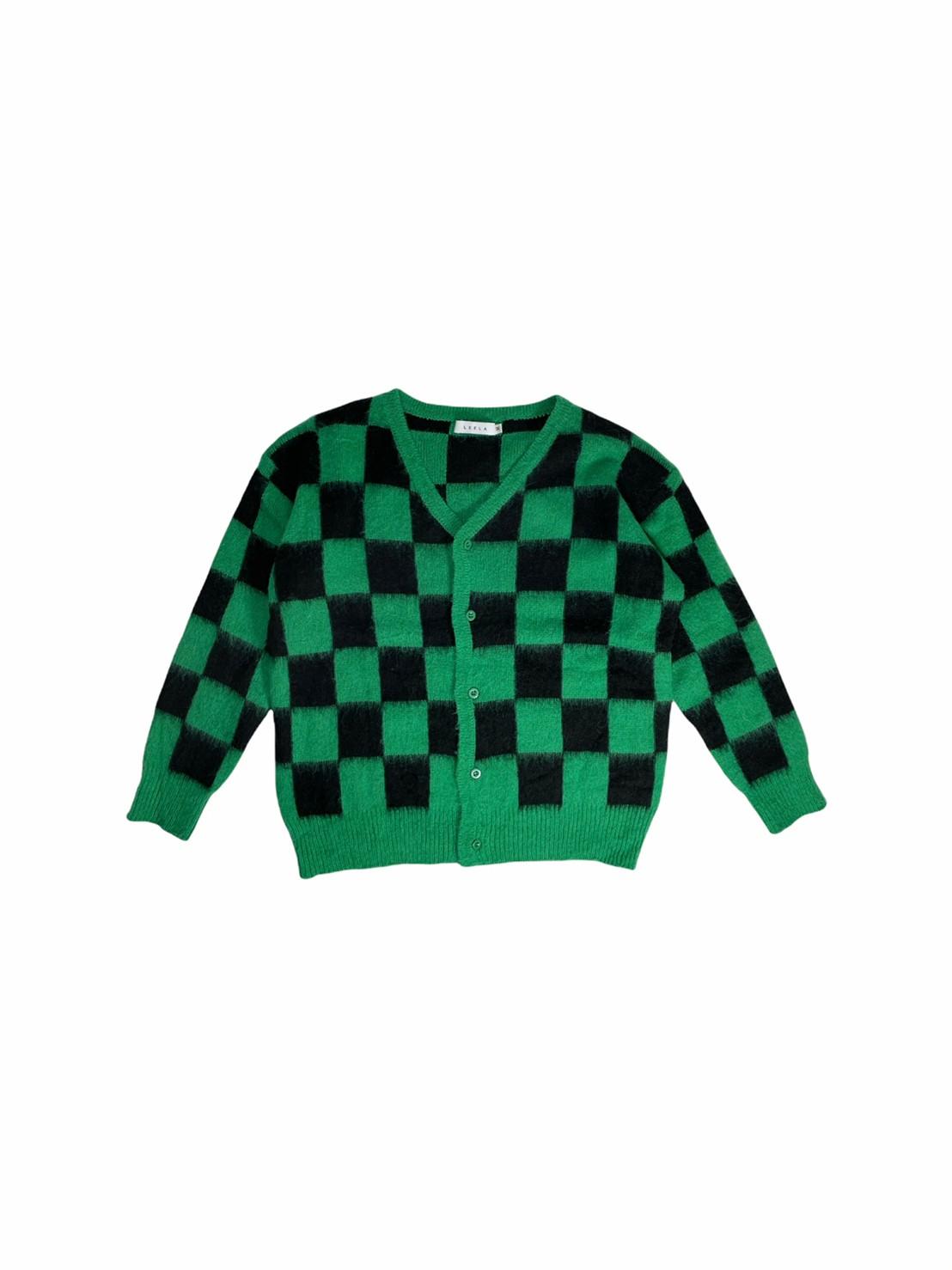 Checkerboard Cardigan