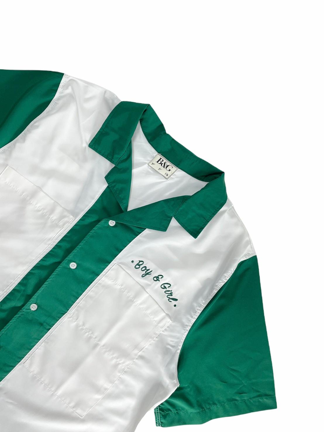 B & G Retro Shirt (Green)