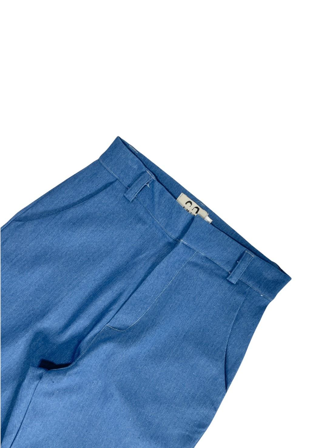 AMIE basic pants (Light Blue)