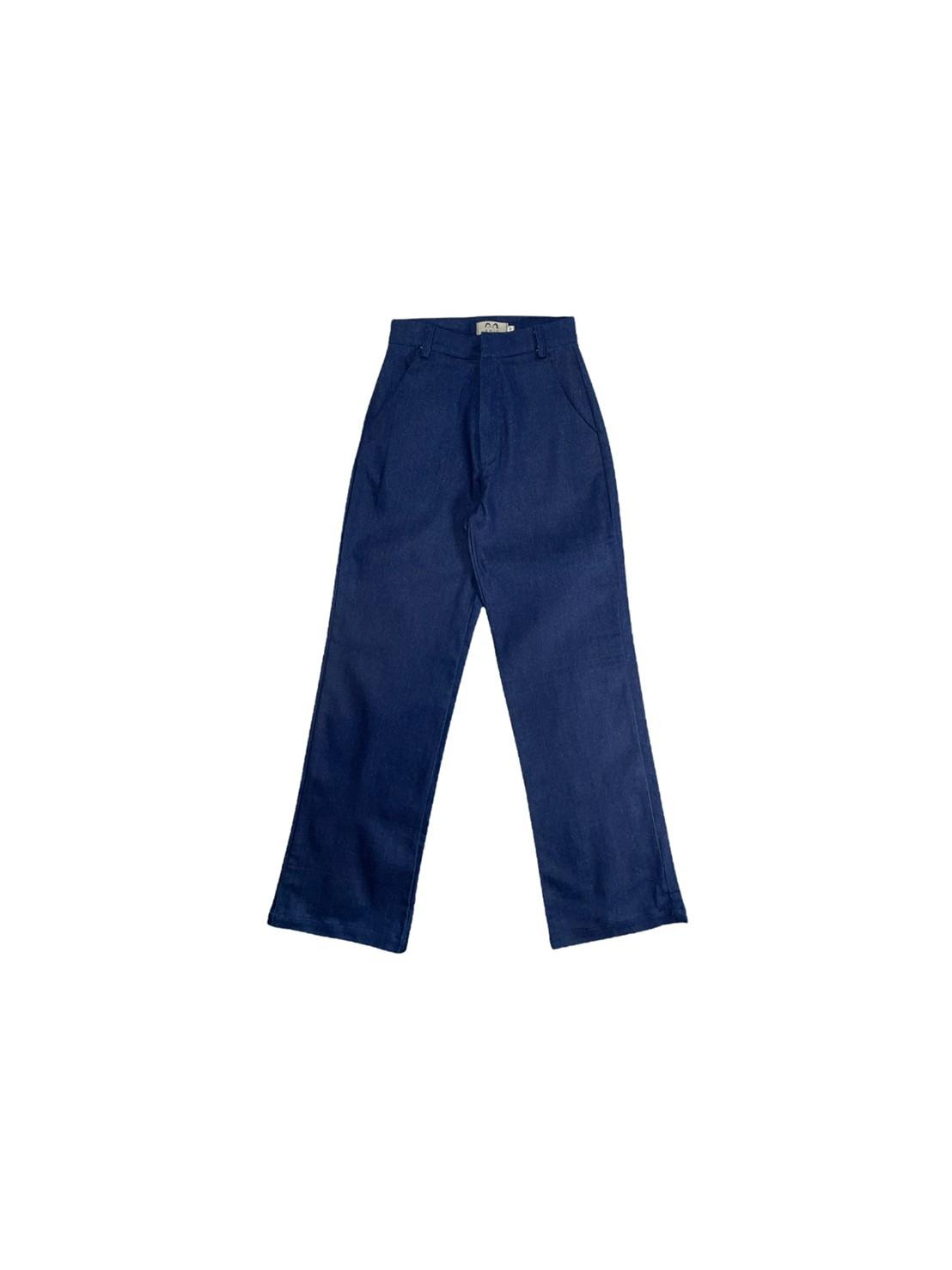 AMIE basic pants (Dark Blue)