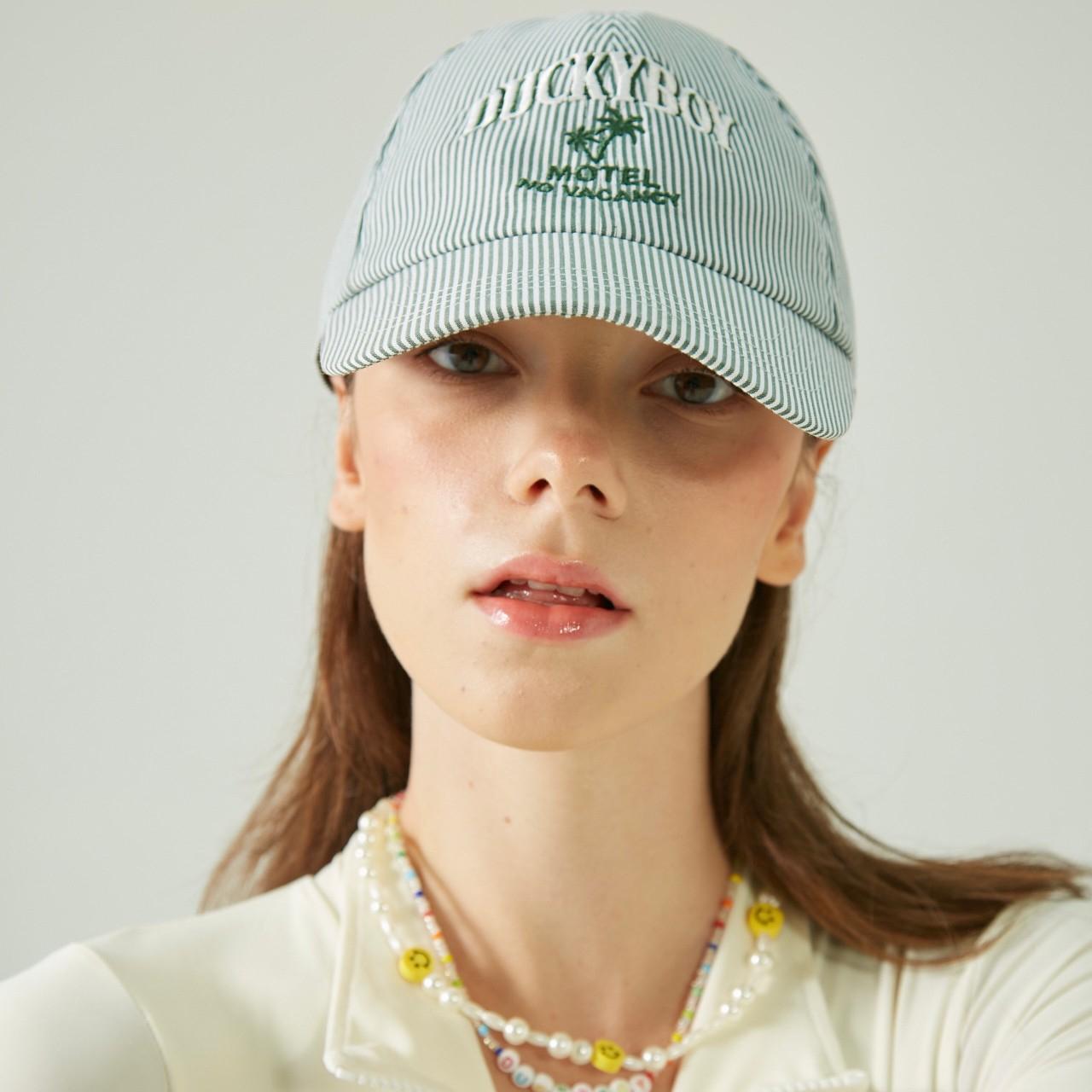 STRIPE CAP MOTEL NO VACANCY (Green)