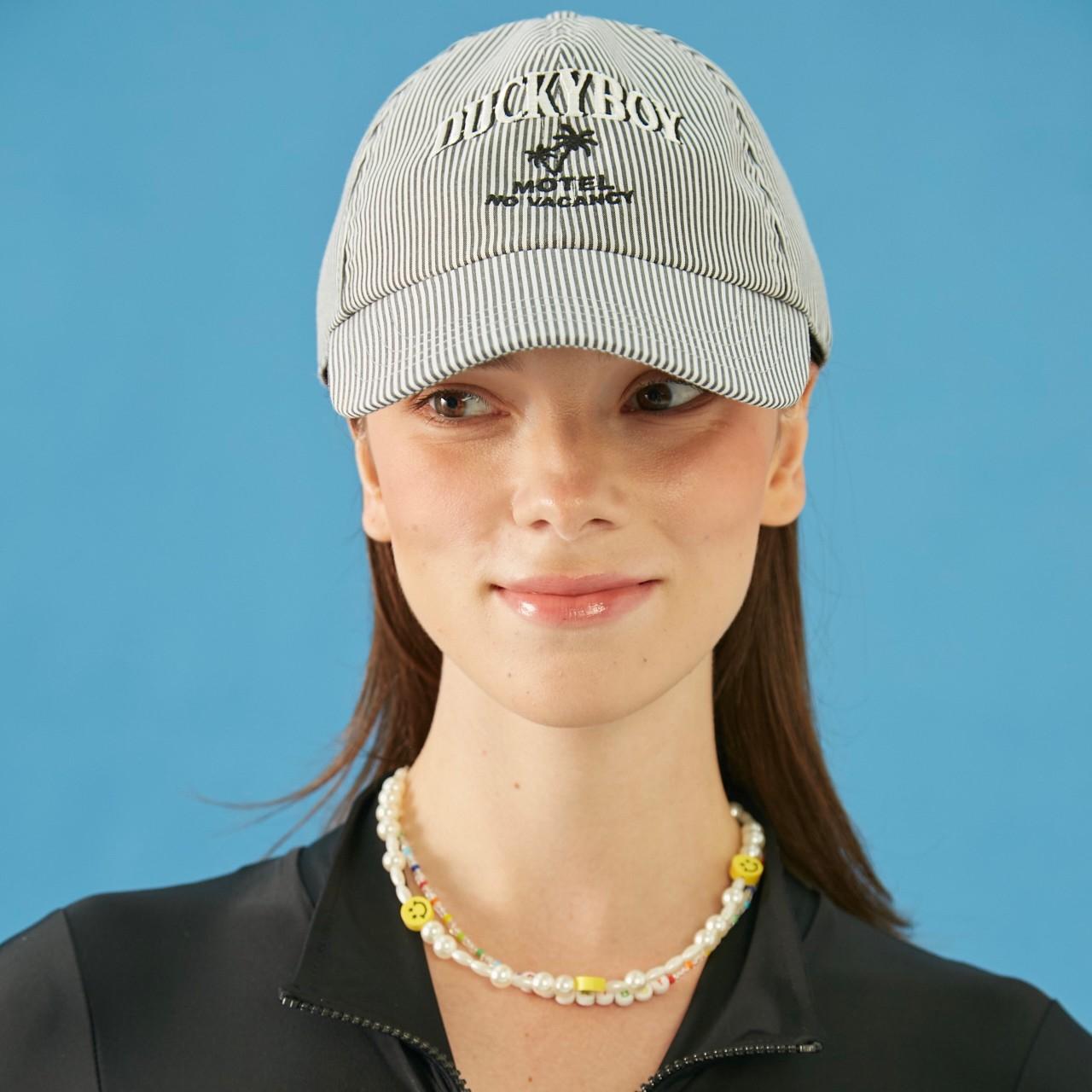 STRIPE CAP MOTEL NO VACANCY (Black)
