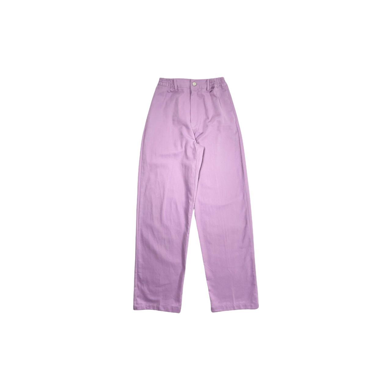 Wide Pants (Purple)