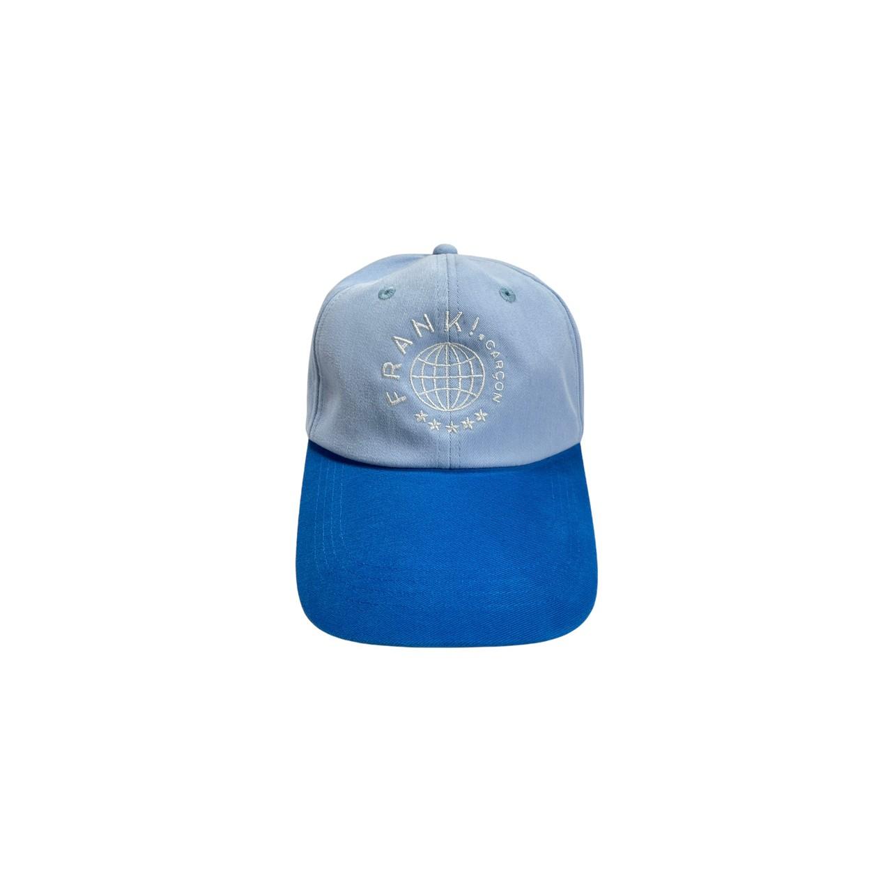 Eric two-tone cap (Blue)