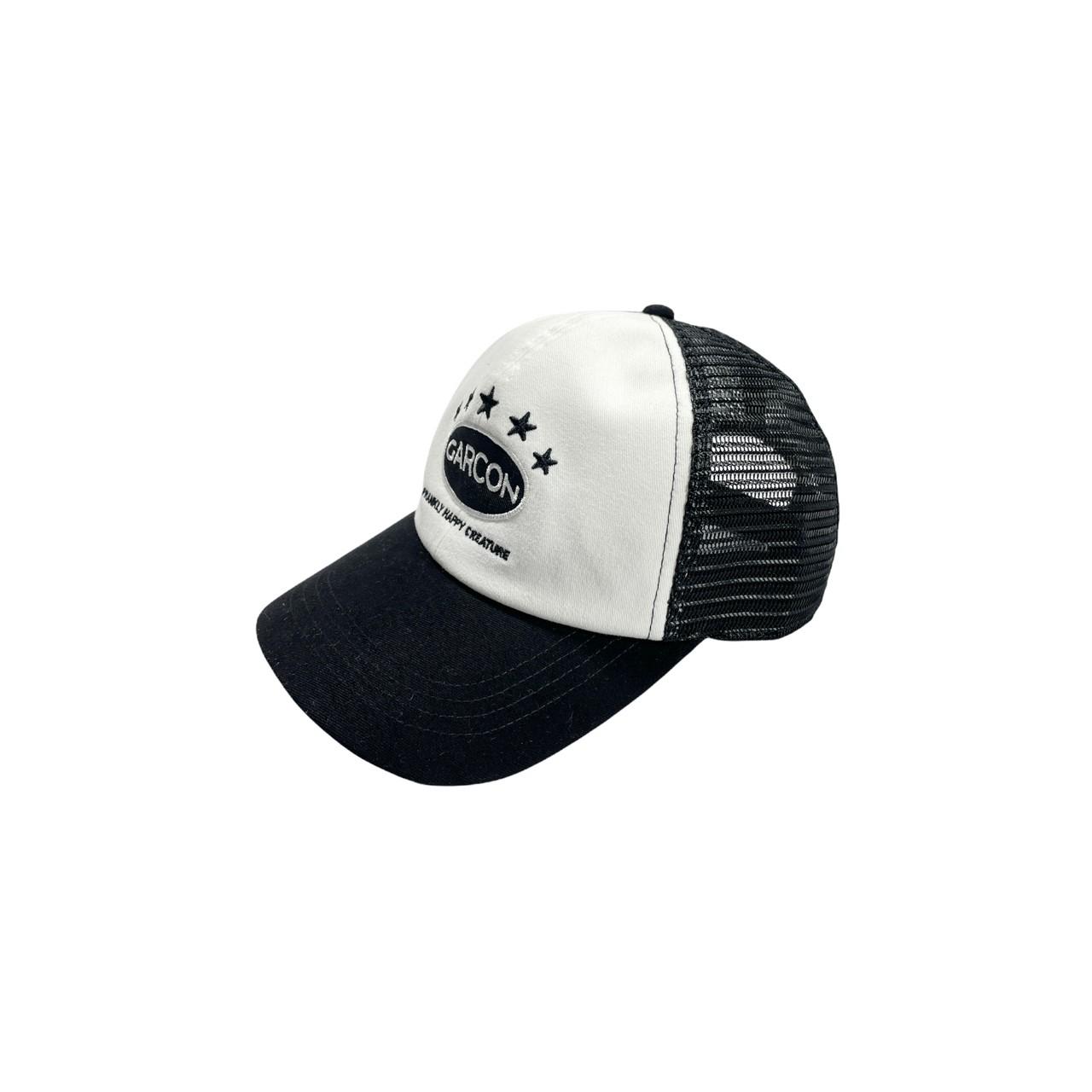Garcon cap (Happy Creature) Black