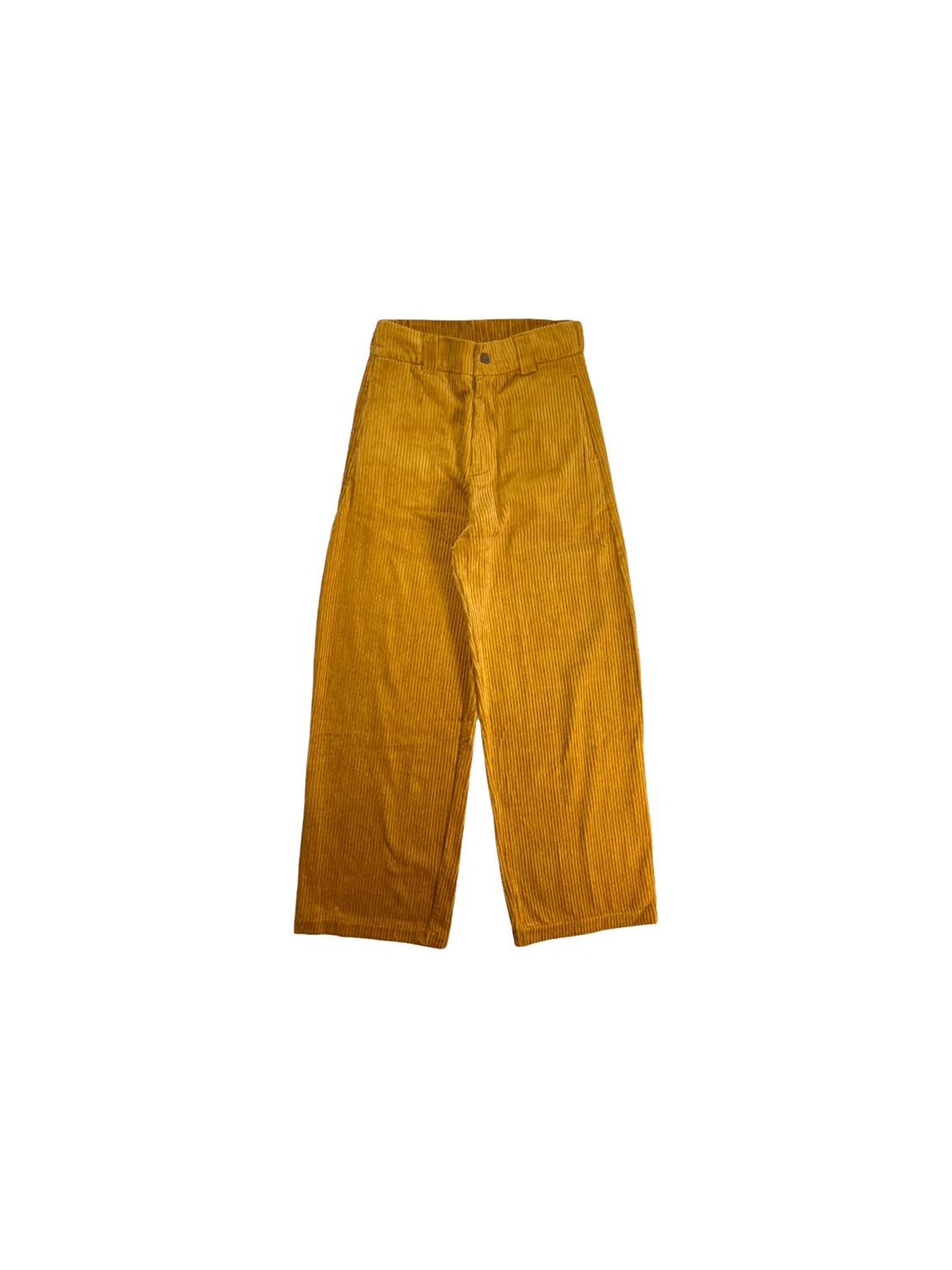 Ronald's Corduroy Pants (Mustard)