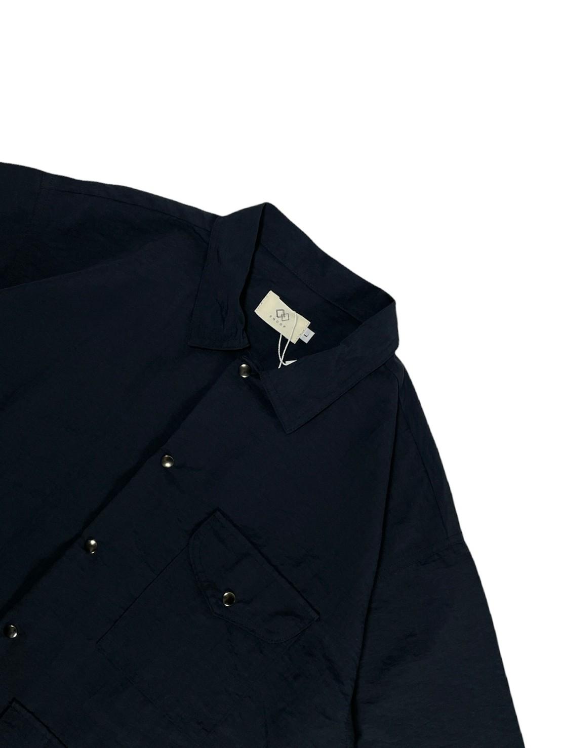 Camping Shirt Short Sleeve (Black)