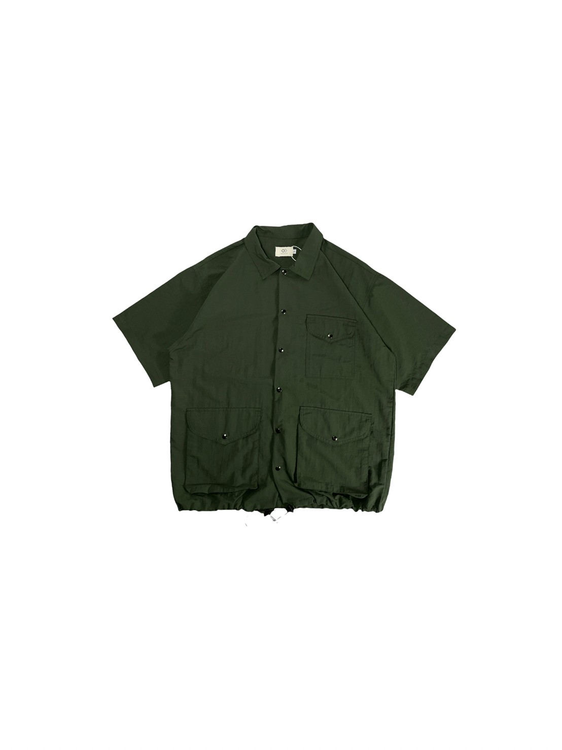 Camping Shirt Short Sleeve (Green)