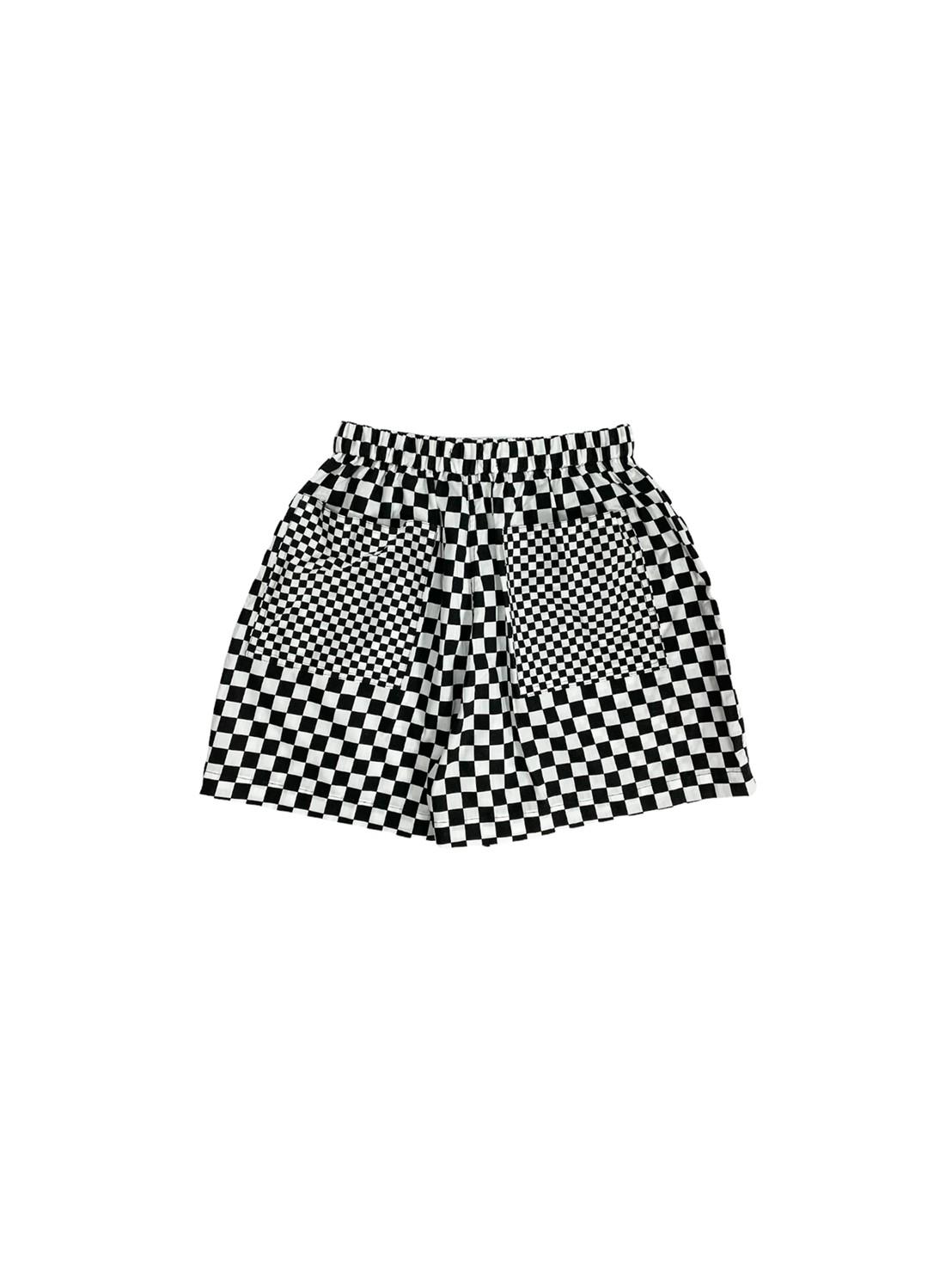 Composer Checkered Shorts