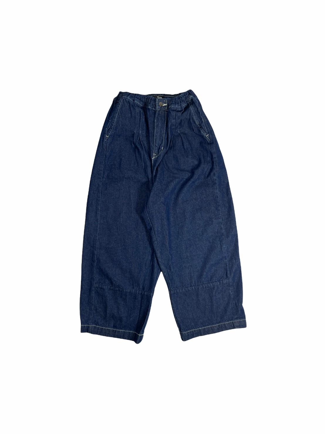 Vineca Balloon-leg Jeans (Indigo)