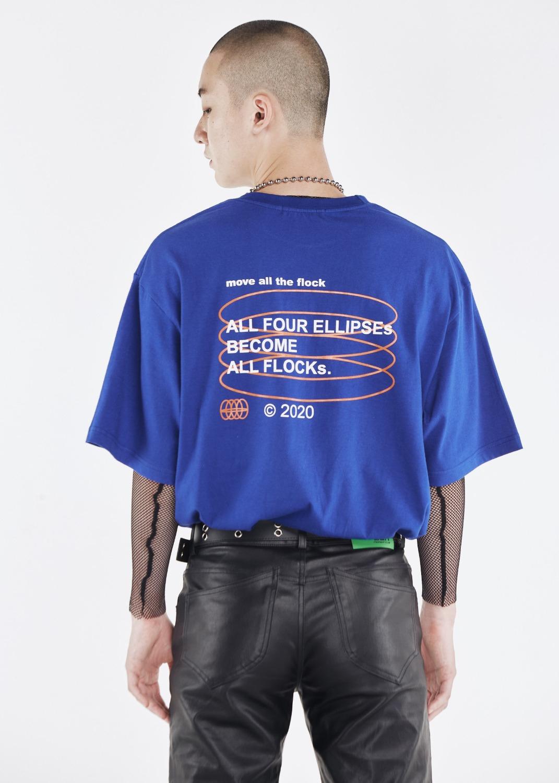 Matf Trademark *Ellipses* T-Shirt (Dark blue)