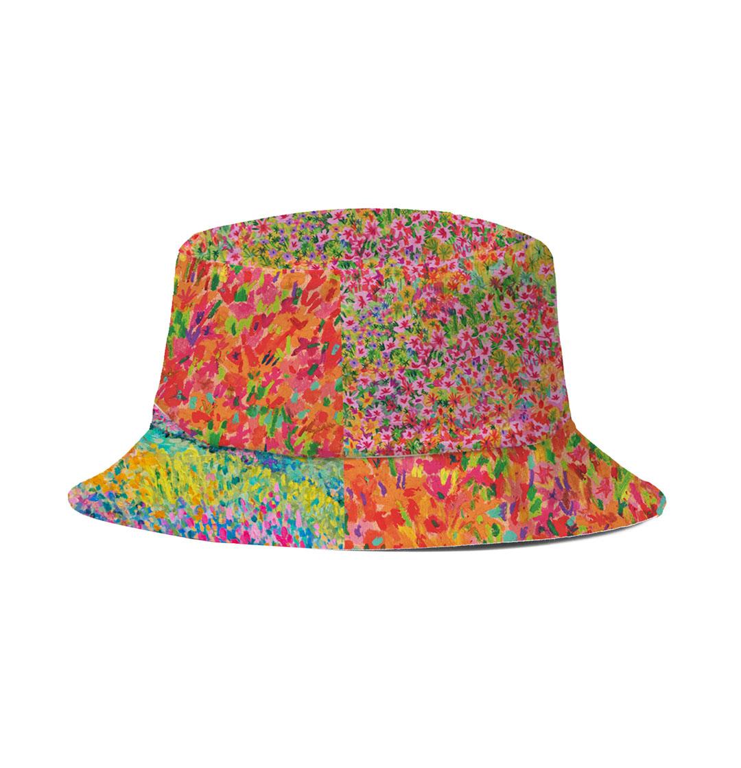Bucket Hat (Orange Garden)