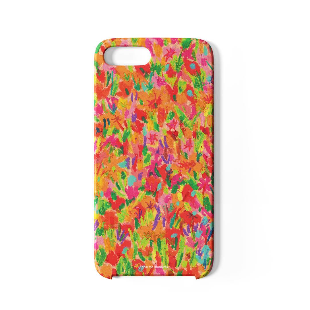 Phone Case (Orange Garden)